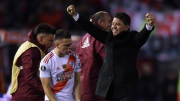 Marcelo Gallardo, Rafael Santos Borre