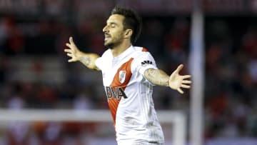 Ignacio Scocco con River Plate