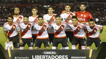 River Plate v FBC Melgar - Copa Conmebol Libertadores Bridgestone 2017 - River repitió equipo ante Melgar, Quilmes y Godoy Cruz.