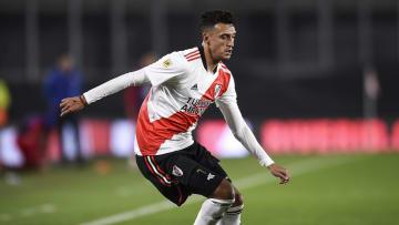 River Plate v Union - Torneo Liga Profesional 2021 - Matías Suárez, uno de los mejores jugadores que tiene River.