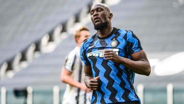 Romelu Lukaku la saison passée avec l'Inter Milan.