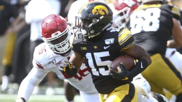 Tyler Goodson will serve as a workhorse in the Iowa offense.