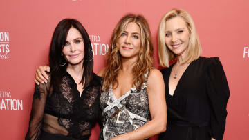 'Friends' stars got together on Instagram to urge fans to vote.