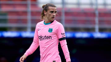 Antoine Griezmann is at risk of being transferred out of Barcelona