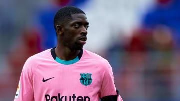 Ousmane Dembélé n'a pas effectué de saison complète depuis son arrivée à Barcelone.