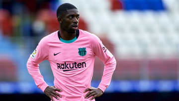 Ousmane Dembele won't be back in action for Barcelona before late October