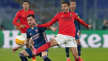 SL Benfica v Arsenal FC  - UEFA Europa League Round Of 32 Leg One