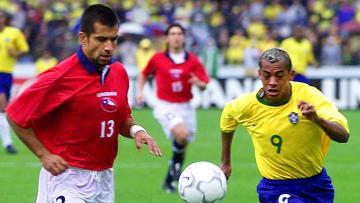 Trotz Nummer 9 kamen für Marcelinho nur wenige Selecao-Einsätze zusammen