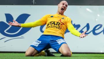 Michael Frey'in gol sevinci