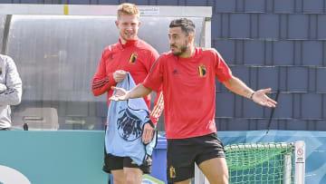 Kevin De Bruyne & Eden Hazard both picked up injuries