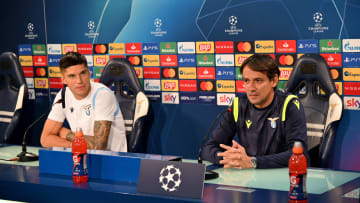 SS Lazio - Press Conference And Training Session