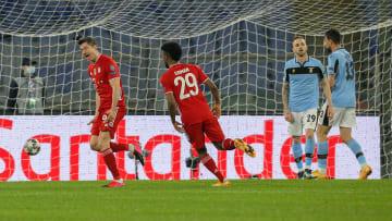 Lewandowski in gol