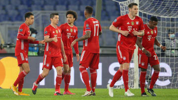 Bayern Munich romped to a 4-1 win in Rome
