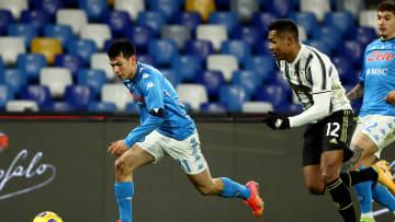 Juve trifft auf Napoli