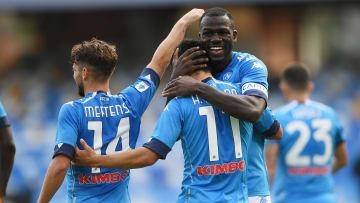Napoli. el que posiciona más futbolistas dentro del once más caro de la Europa League.