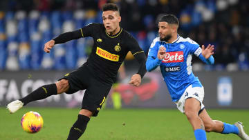 Lautaro e Insigne, dos de los mejores atacantes de la Serie A.