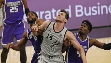 San Antonio Spurs Drew Eubanks