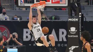 Drew Eubanks - San Antonio Spurs v Cleveland Cavaliers