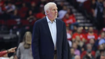 Spurs head coach Gregg Popovich