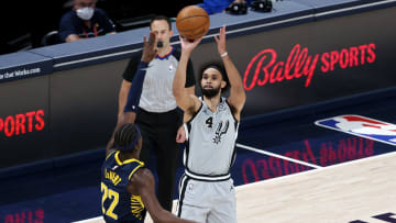 Derrick White - San Antonio Spurs v Indiana Pacers