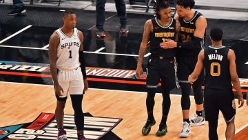 Lonnie Walker IV - San Antonio Spurs v Memphis Grizzlies - Play-In Tournament