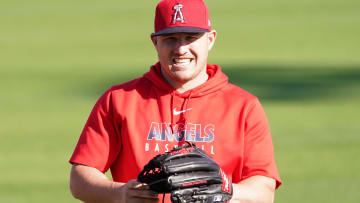 Los Angeles Angels superstar Mike Trout