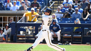 Christian Yelich could become the first player since Ted Williams to bat .400 in the shortened 2020 season.