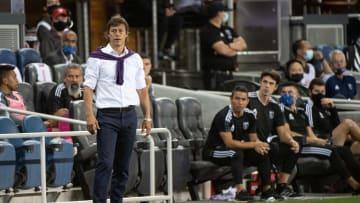 El argentino le deseó todo el éxito a Marcelo Leaño