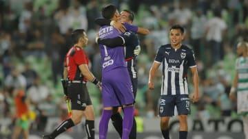 Esteban Andrada y Rogelio Funes Mori. Santos Laguna vs Monterrey