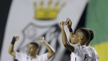 Santos FC, finalista da Conmebol Libertadores 2020.