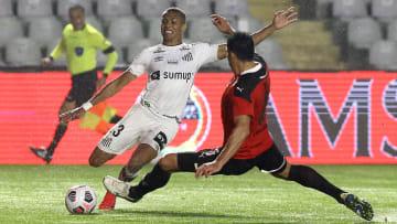 Equipes jogam no Defensores del Chaco   Santos v Libertad - Copa CONMEBOL Sudamericana 2021