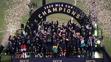 The Crew won the 2020 MLS Cup