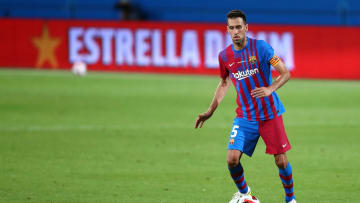 Sergio Busquets of Fc Barcelona  in action during  the Joan...