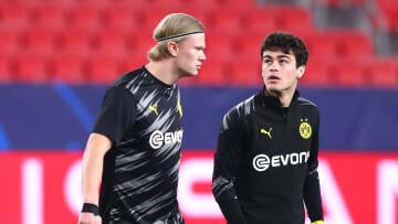 Erling Haaland (kiri) & Gio Reyna (kanan) / Borussia Dortmund