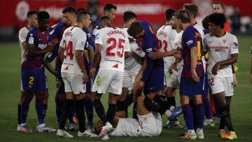 Aplazado el Sevilla vs FC Barcelona