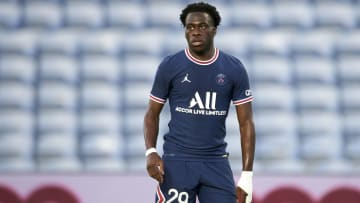 Arnaud Kalimuendo a fait forte impression face au Séville FC.