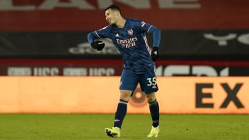 Arsenal's Gabriel Martinelli got himself on the scoresheet at Sheffield United on Sunday