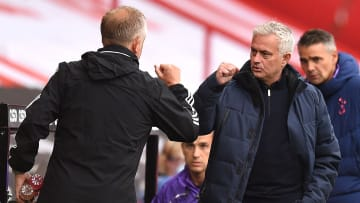 Chris Wilder, Jose Mourinho