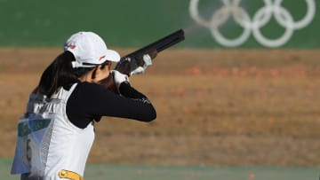 Wei Meng is the favorite in the odds to win the women's skeet shooting Gold Medal at the 2021 Tokyo Olympics.