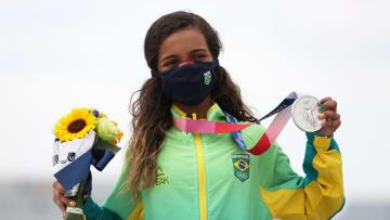 Rayssa Leal conquistou a prata olímpica aos 13 anos