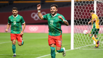 El delantero mexicano ha tenido una muy buena actuación en los Juegos Olímpicos