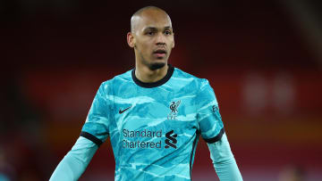 Fabinho has played mostly as a central defender this season