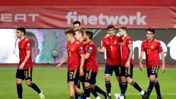 Spanyol mengalahkan Kosovo dengan skor 3-1