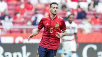 Busquets is Spain's captain
