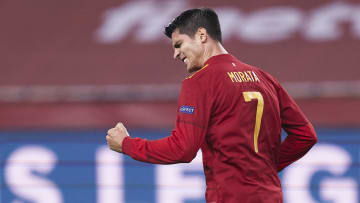Alvaro Morata has continued his fast start to life back in Turin on the international stage