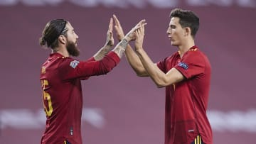 Sergio Ramos is likely to lineup alongside Pau Torres