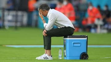 Luis Enrique said Spain players complained about the pitch in Euro 2020 match against Sweden