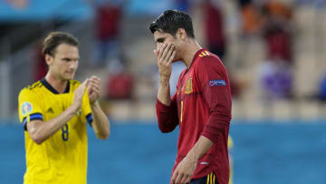 Spain couldn't find a way to score against Sweden