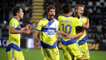 Juventus beat Spezia in midweek