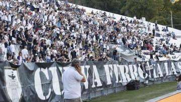 La Curva Ferrovia dello Stadio Alberto Picco di La Spezia